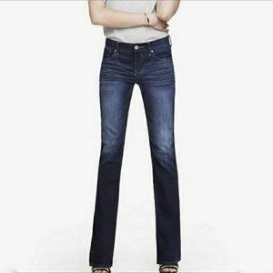 Express Stella Cropped Skinny Low Waist Jean Sz 0